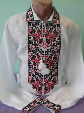 Ukrainian embroidery, embroidered shirt, MEN, any color, XS - 4XL, Ukraine