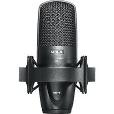 Shure SM27 Cardioid Side-address Condenser Microphone