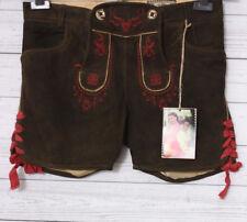 Stockerpoint Damen Skinny Lederhose Franzi, Gr. 40, Braun (chili pepper)