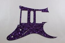 Purple Pearl Pearloid Pickguard Fits Ibanez (tm) Universe UV UV777 7 String- HSH