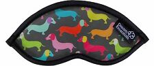 Dream Essentials Cute Sleep Mask Children for Travel Funny Design - Hot Dogs
