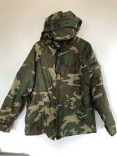 Military Cold Weather ECWCS Parka Gore Tex Camouflage Large Regular