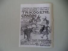 advertising Pubblicità 1911 TRIKOGENE GANDINI - GENOVA