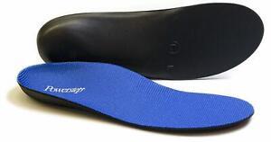 Powerstep Full Length Orthotic Shoe Insoles Original Blue/Black
