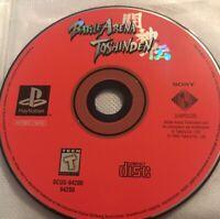 Battle Arena Toshinden Playstation 1 Ps1 Game 26q Black Label Ps2 2 Compatible