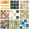 20pcs/set DIY Waterproof Self Adhesive Wall Stickers Mosaic Tile Decal Decor