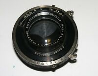 "VERY RARE HUGO MEYER SATZ PLASMAT LENS 15.3 cm F4.5 COVERS UP TO 4x5"" IN SHUTTER"