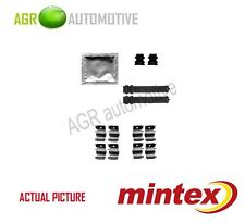 MINTEX FRONT BRAKE PADS ACCESORY KIT SHIMS GENUINE OE QUALITY - MBA1855