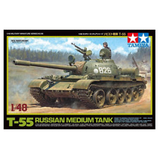 Tamiya America Inc 1/48 Russian Medium Tank T-55 Tam32598