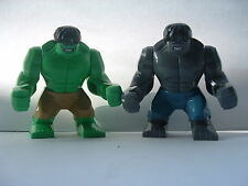 Grand Marvel Avengers Ultron incroyable gris & green hulk kaki brique lego dc