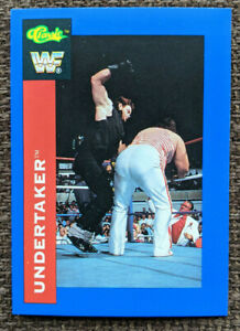 1991 Classic WWF The Undertaker TRUE ROOKIE Wrestling Card #106  WWE