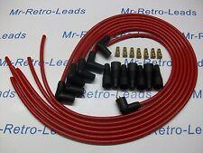 Rouge 8MM performance ignition lead kit conviendra jaguar mk 2 XJ6 xk 6 cyl de qualité.