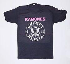 Vintage Original Ramones Rocket To Russia Shirt 1977