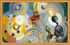 Air, Iron, and water Robert Delaunay elementos aire agua torre eiffel B a2 03172