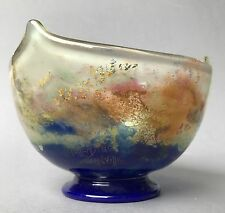 Art Deco intercalaire Glass Bowl MULLER FRERES-LUNEVILLE France Glass Bowl ~ 25