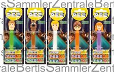 PEZ - SCOOBY DOO - set of 5 - Mint on Card, 2020