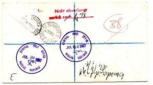 Bahamas 1967 Cover - Airmail to Germany