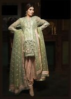PAKISTANI INDIAN SALWAR KAMEEZ SUIT ANARKALI BOLLYWOOD MARIA B ASIM JOFA CHIFFON