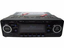 USB CD MP3 Retro Design Oldtimer Autoradio Mercedes Benz BMW Opel VW schwarz