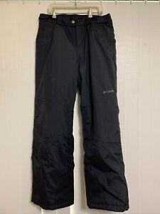 Columbia snow pants waterproof boys size 14-16 youth black
