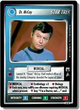 Star Trek CCG TwT Trouble with Tribbles Dr. McCoy 56UR Ultra Rare