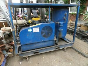 INGERSOLL RAND BREATHABLE AIR COMPRESSOR SCUBA AIR POWER LISTER DIESEL LOW HOURS