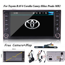 Car Stereo Radio No-DVD Player GPS Navigation For Toyota Corolla Camry Sienna