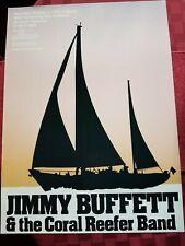 Jimmy Buffett And Coral Reefer Band Wsu Washington 1979 Poster