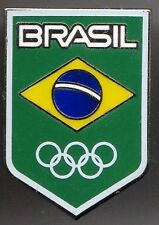 RIO 2016. OLYMPIC GAMES. NOC PIN. BRAZIL. THE LARGE ONE