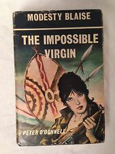 Modesty Blaise - The Impossible Virgin - Peter O'Donnell - 1st/1st 1971, in DW