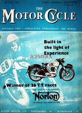 26 July 1951 NORTON 'Dominator' Motor Cycle ADVERT - Magazine Cover Print