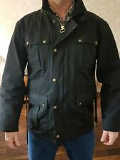 Unbranded Waist Length Cotton Coats & Jackets for Men