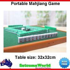 Portable Chinese Mahjiang Game foldable design with 3 dices Mahjang Majiang