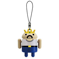 Android Robot Colors Mascot Portachiave Keychain Swing Re Baffi Omino Bandai