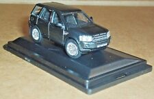 OXFORD DIECAST LAND ROVER FREELANDER SANTORINI BLACK 1:76 SCALE MODEL CAR TOY