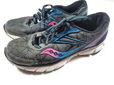 Women's Saucony Breakthru Neutral Running Shoes 8MM Offset  Size 9 Powergrid