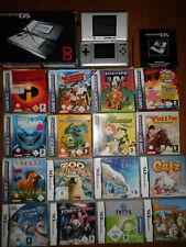 Nintendo DS mit 7 DS Spiele und 9 Game Boy Advance Spiele(alle OVP),siehe Fotos!