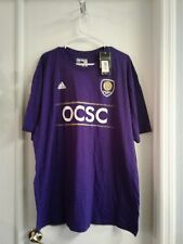 "adidas Men's T Shirt MLS Orlando City Soccer Club Size 2X ""The Go To Tee"" NWT"