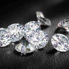 Full White Round Brilliant Diamond Cut Loose Moissanite 6 MM 0.70 Carat For Ring