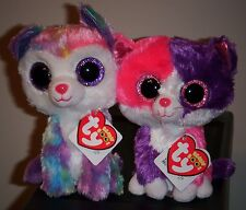 a86bdfbb3b9 Ty Beanie Boos Set ~ IZABELLA PELLIE 6  034  ~Claire  039 s Exclusive ~MINT  w MINT TAGS
