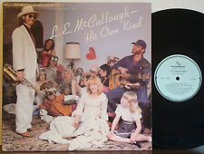 L.E.McCULLOUGH Hippy Funk-Urban Blues-Soul Folk MEGA RARE EXC 1981 WILDEBEEST LP