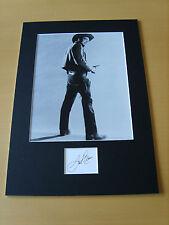 Jack Elam Genuine Autograph - UACC / AFTAL.