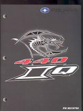 2006 POLARIS 440 IQ SNOWMOBILE SERVICE MANUAL / PN 9919760
