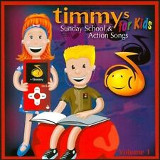 Timmys Sunday School & Action Songs For Kids, Vol. 1 by Various Artists (CD,...