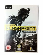 Operation Flashpoint: Dragon Rising (PC DVD) BRAND NEW SEALED