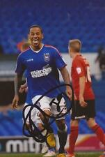 IPSWICH: DJ CAMPBELL SIGNED 6x4 PORTRAIT PHOTO+COA