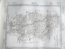 55 Meuse gravure carte géographique Tardieu 1840 (1c)