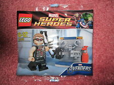 LEGO MARVEL SUPER HEROES AVENGERS SUPER HEROES HAWKEYE 30165 - NEW/SEALED