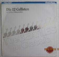 """DIE 12 CELLISTEN/BERLINER PHILHARMONIKER.""""THE BEATLES"""" GERMAN STEREO.33 RPM.LP"""