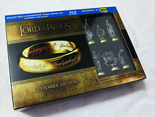 Lord of the Rings TRILOGY with EXCLUSIVE 6 FIGURINE SET - Limited Edition